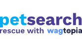 Petsearch - Rescue with Wagtopia Logo